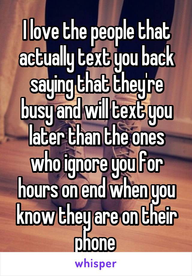 what to say to people who ignore you