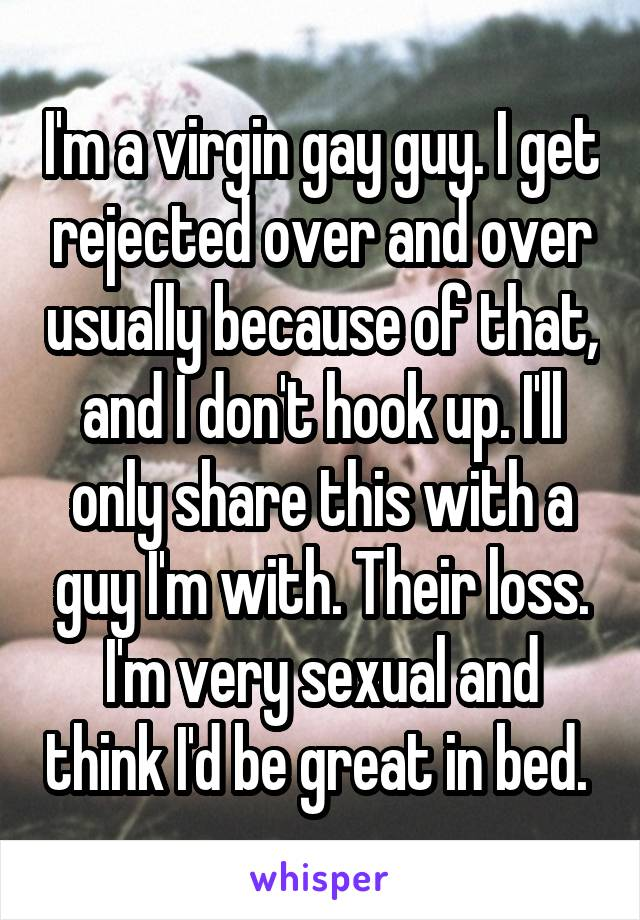 What Guys Think About Hookup A Virgin