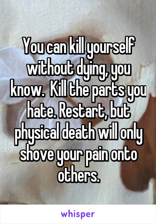 how do you kill yourself without pain