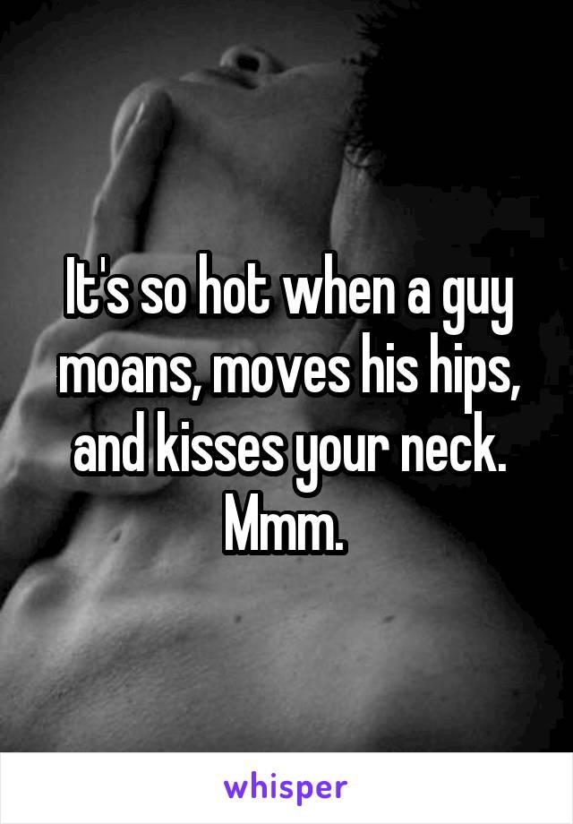 Hot guy moans