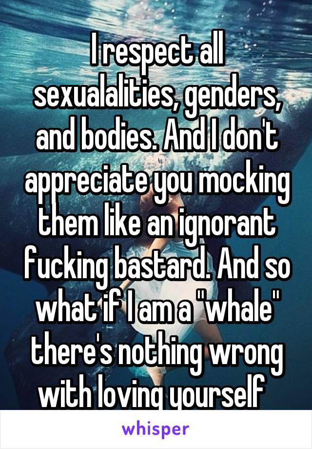 Sexualalities