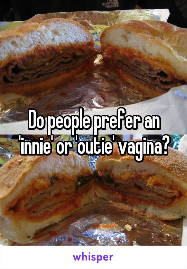 Innie vs outie vagina