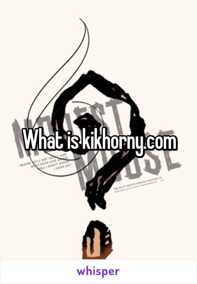Kikhorny com