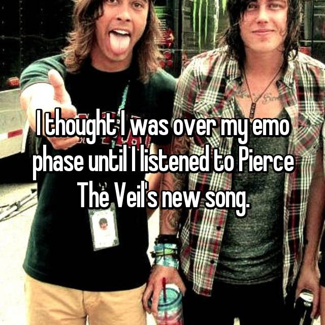 I thought I was over my emo phase until I listened to Pierce The Veil's new song.