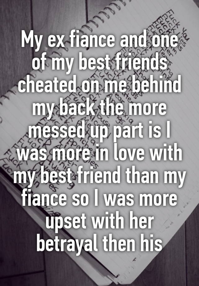 my fiance is my best friend