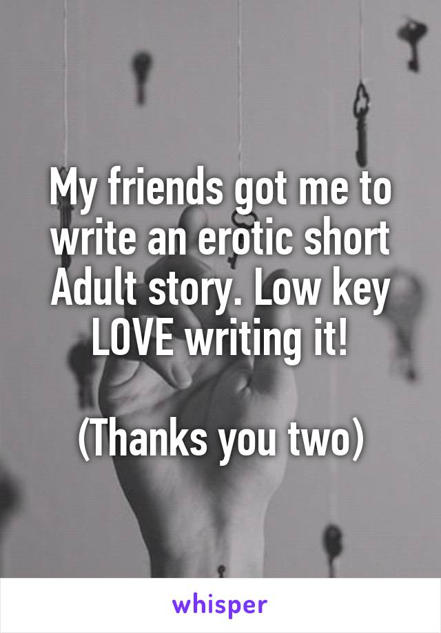Adult erotic short story