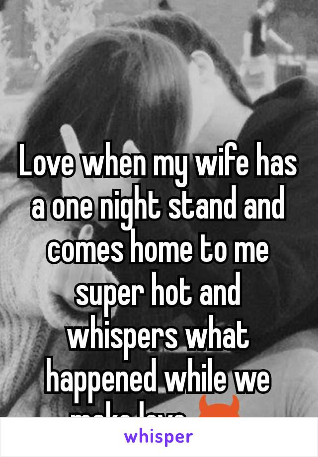 Think, making love to wife the