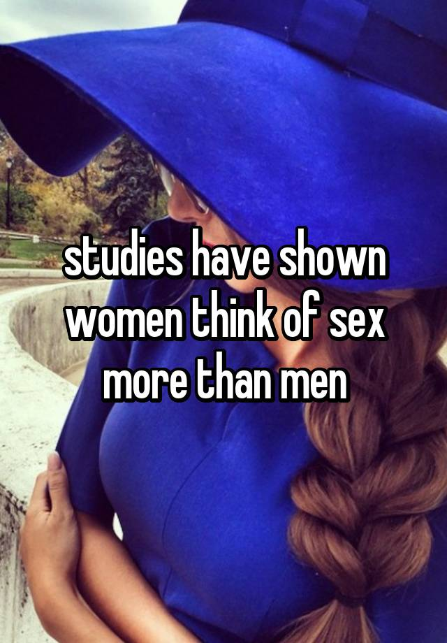 Who loves sex more men or women