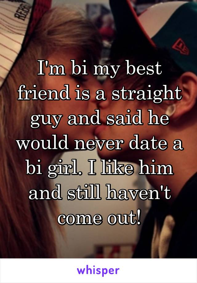 guy dating a bi girl