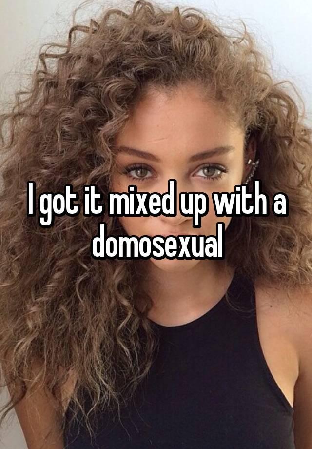 Domosexual