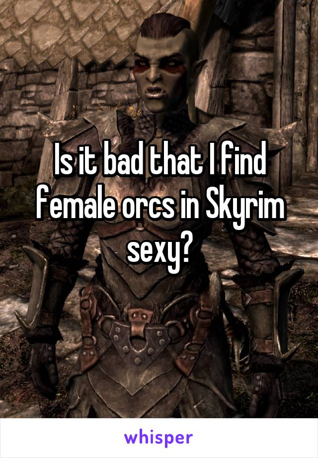 skyrim sexy orc