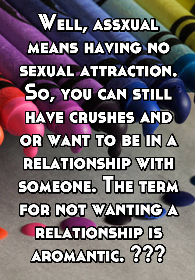 No sexual attraction in a relationship