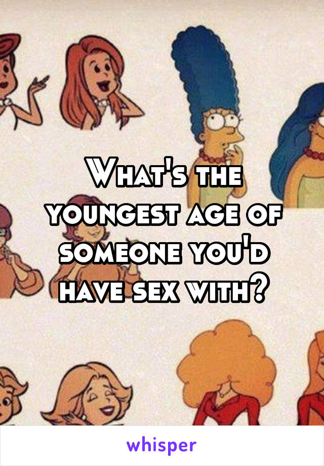 Youngest age to have sex galleries 19
