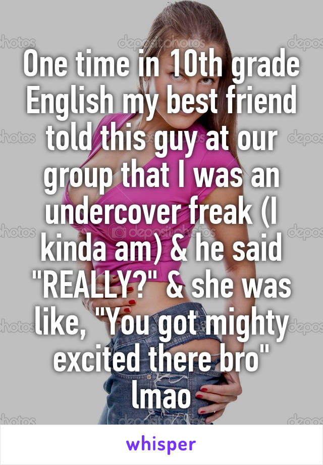 What does undercover freak mean | What Makes A Person A Freak???