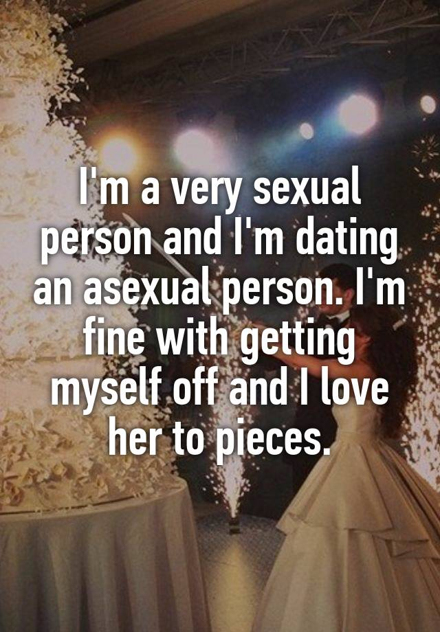 dating an asexual man