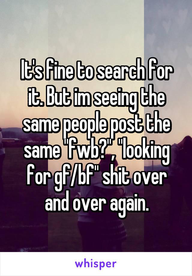 Fwb search