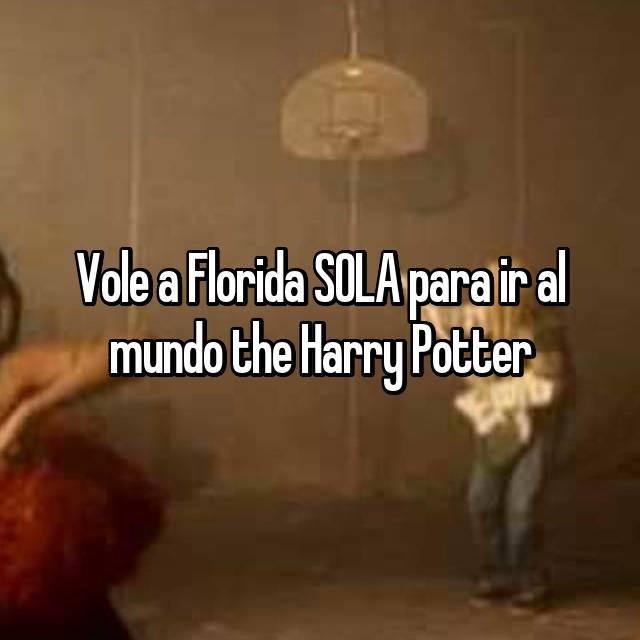 Vole a Florida SOLA para ir al mundo the Harry Potter