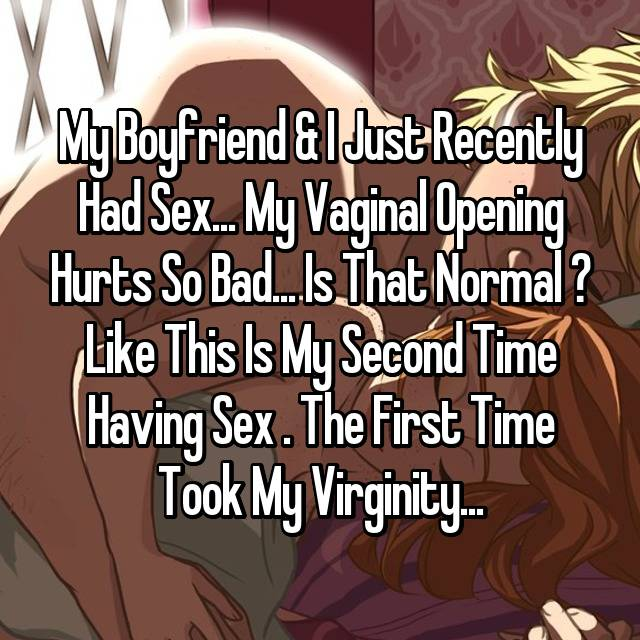 Does sex hurt the second time images 18