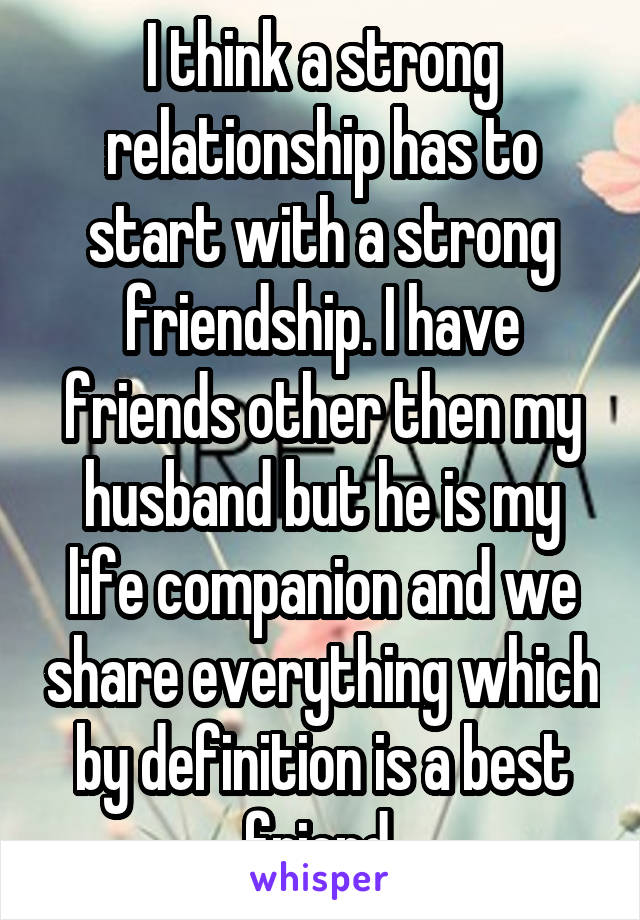 What does companion mean in a relationship