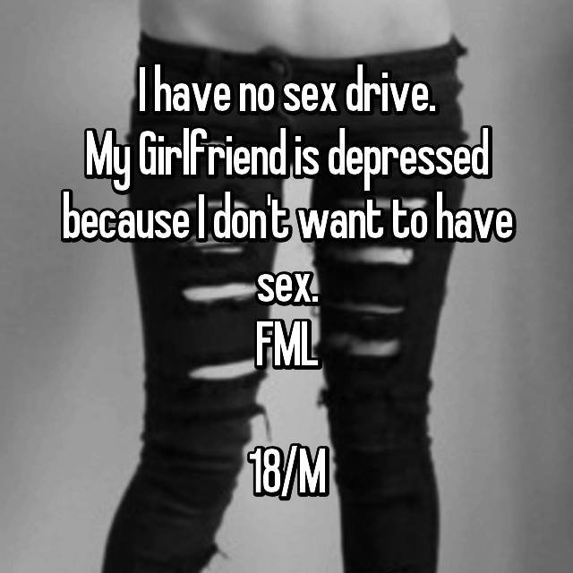 Depression wife no sex has left