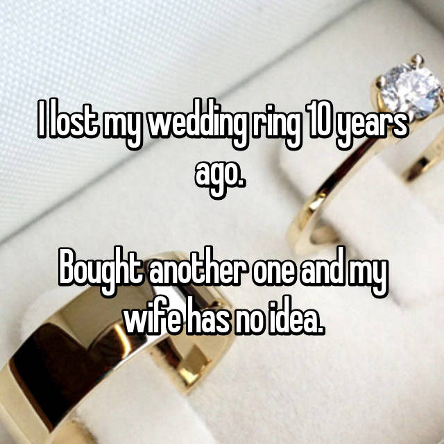 How I Lost My Ring And Found It