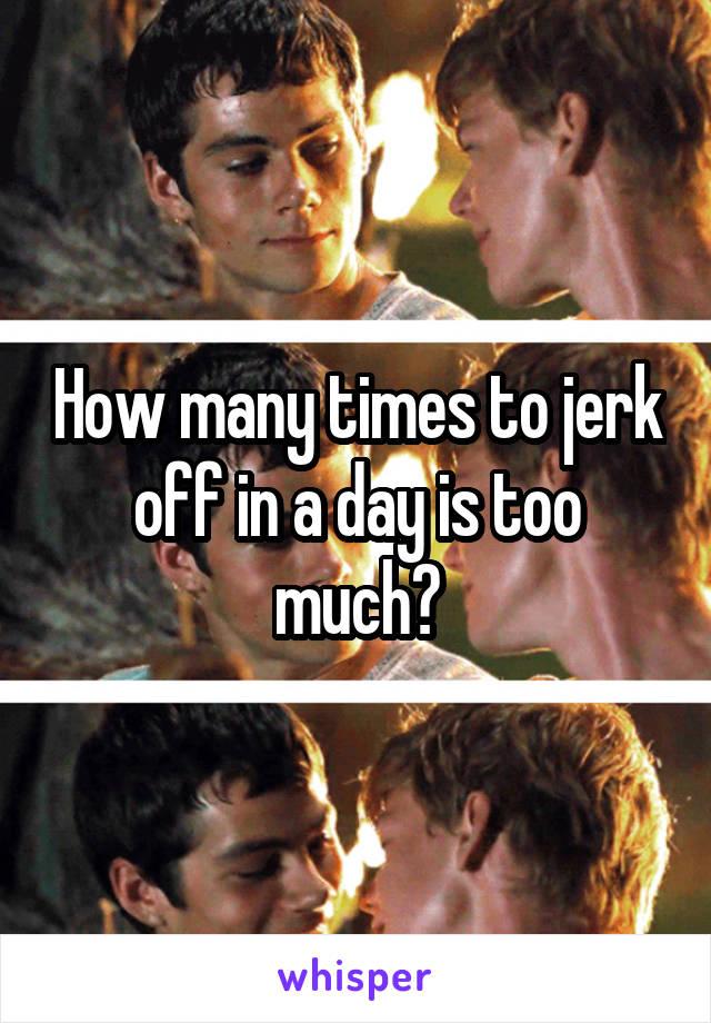 How to jerk off
