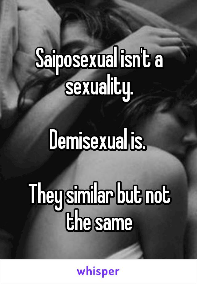 Saiposexual