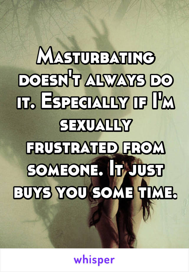 How can you tell if your sexually frustrated