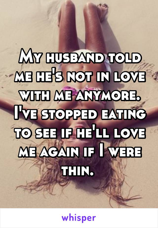 husband not in love with me
