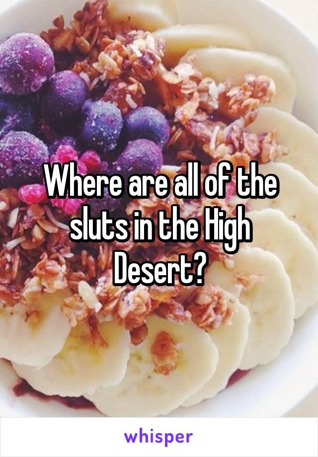 Desert Sluts