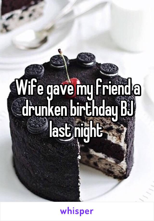 妻の誕生日bj