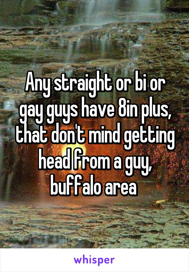 Buff straighty gets head from guy
