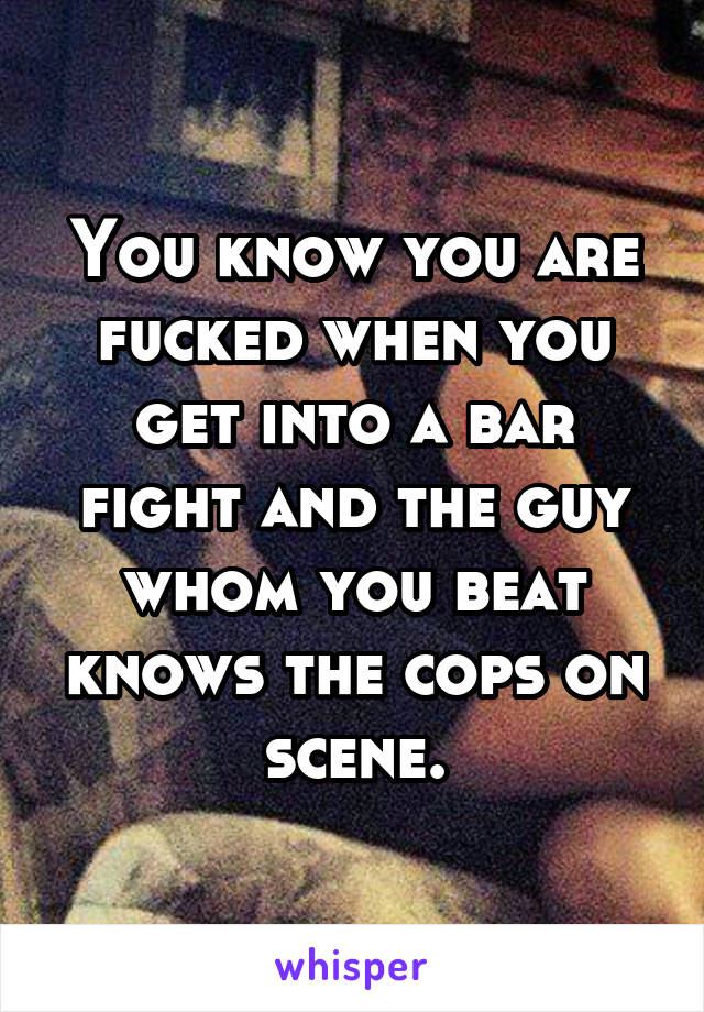 13 Bar Fight Stories That May Make You Cringe