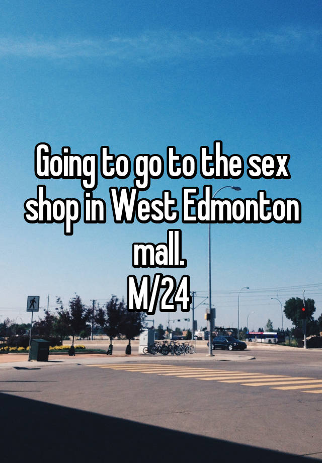 Sex shops edmonton