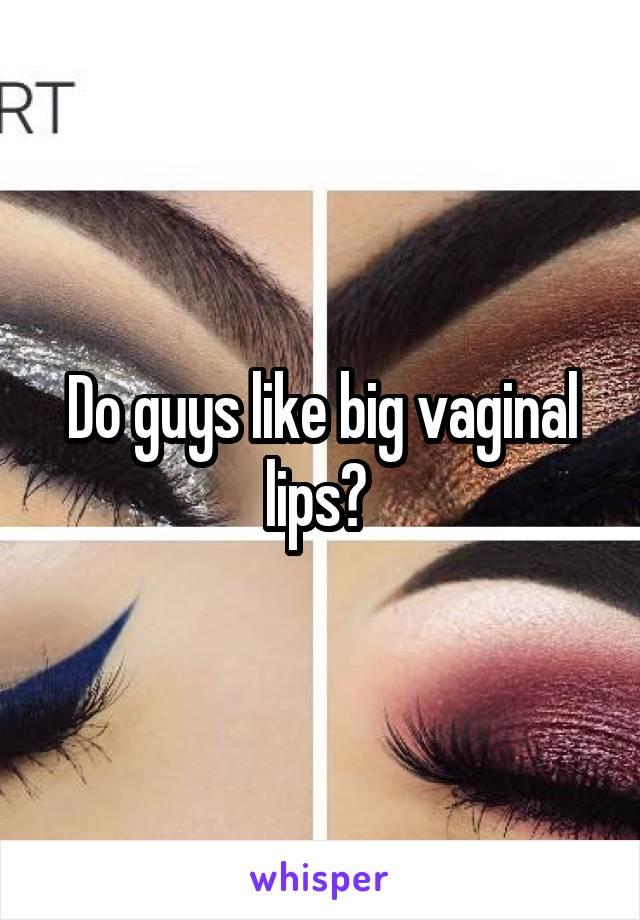 Big virgina lips