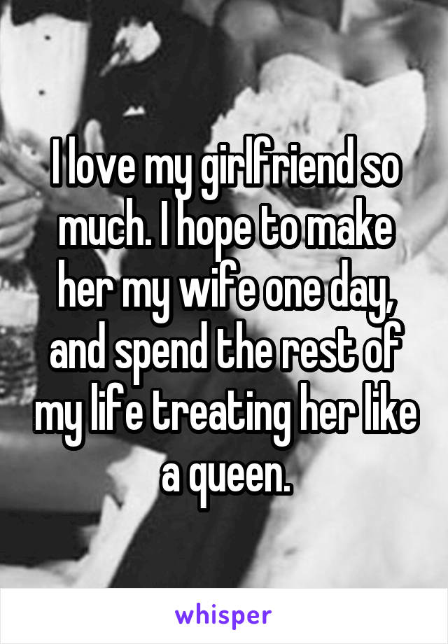 make her my girlfriend