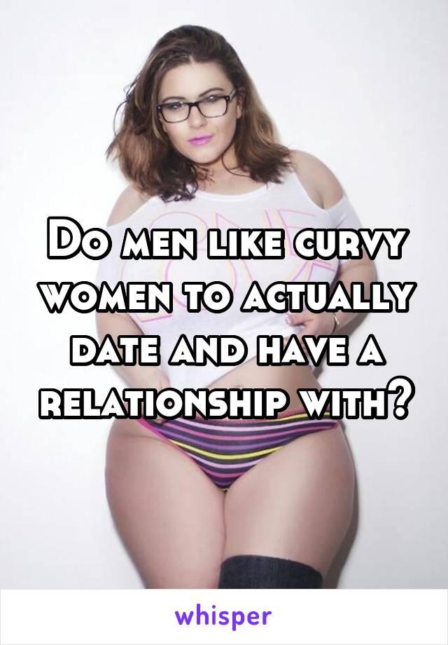 Men prefer curvy women