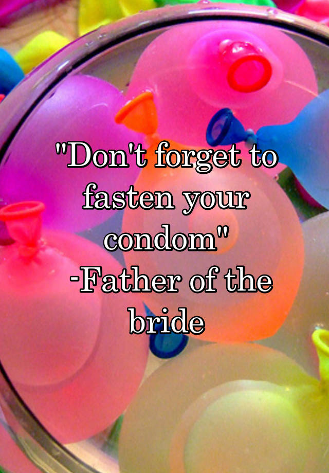 Don t forget to fasten your condom foto 156