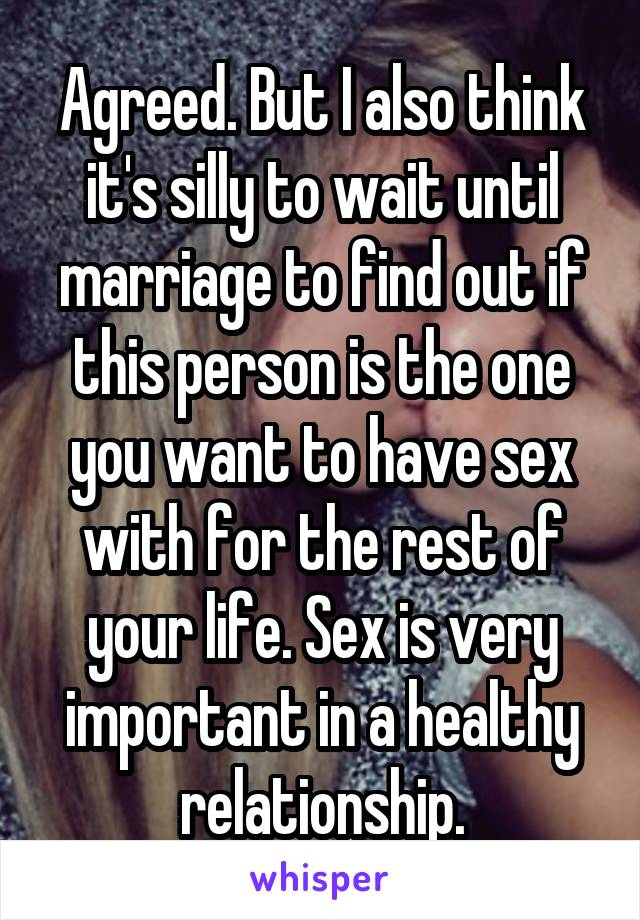 Why sex is important in married life