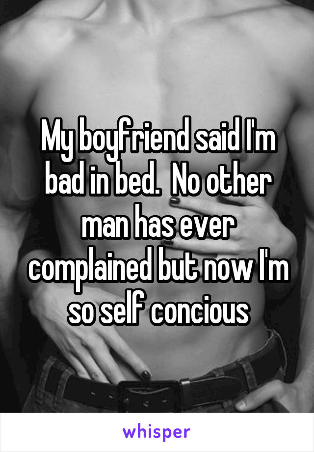 Bad bed Boyfriend in
