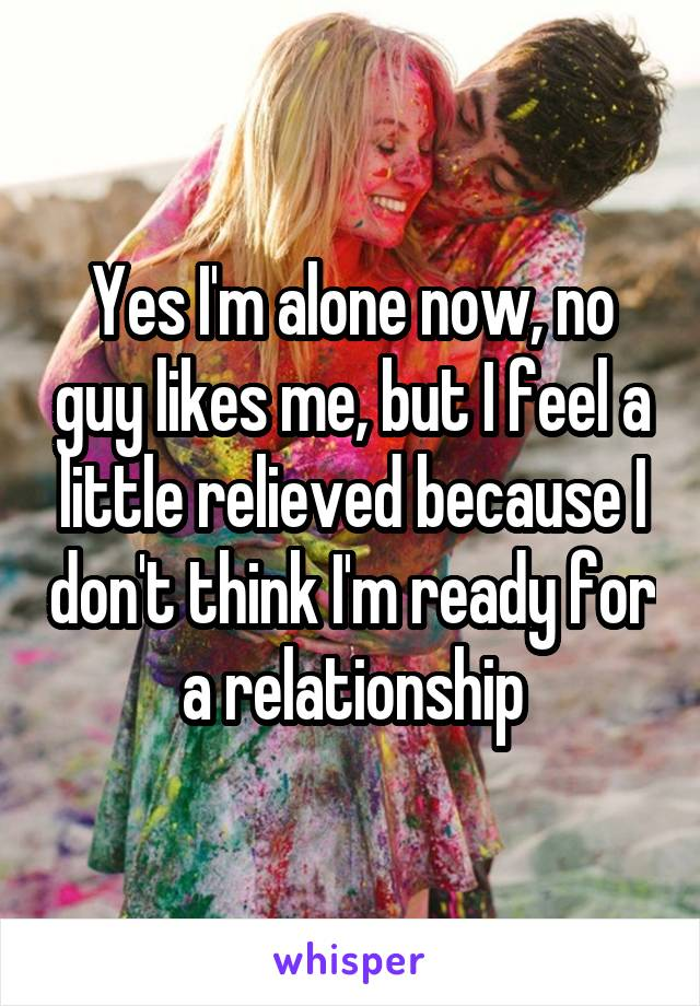 Guy likes to be alone