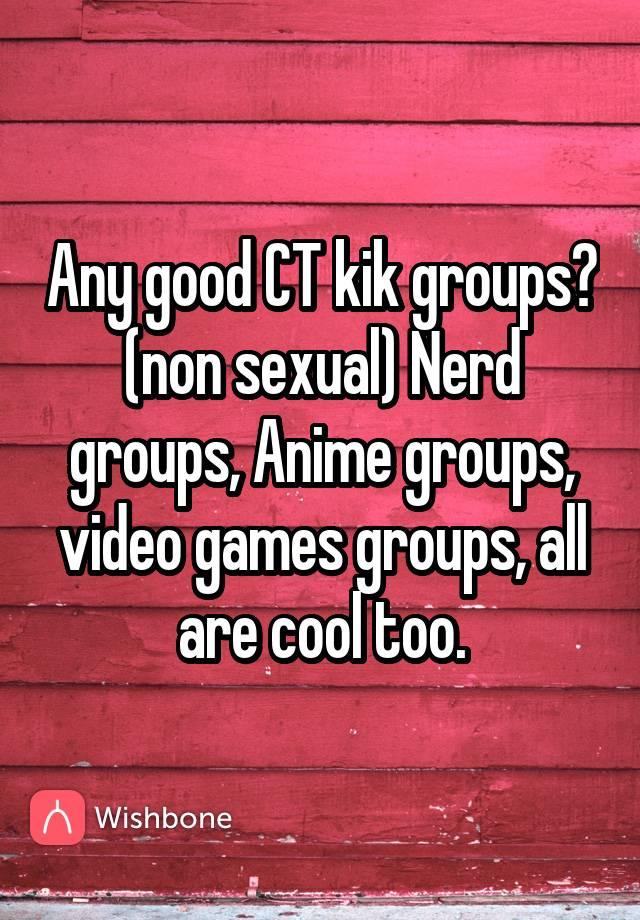 Sexual kik games