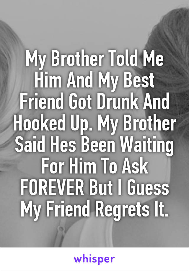 regret hooking up with friend