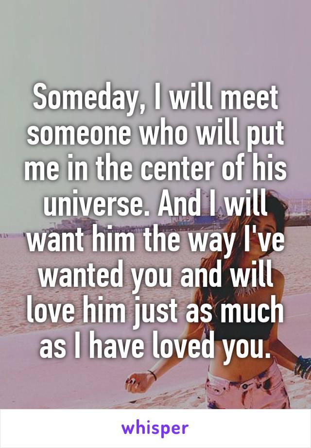 Who will i meet