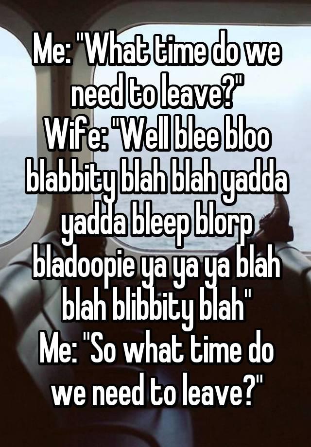 Blibbity bloo