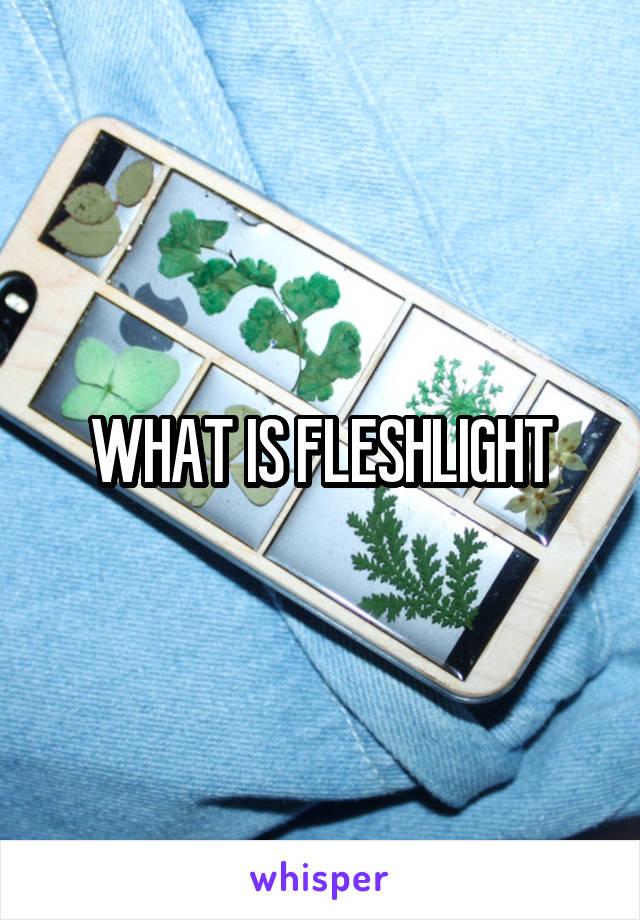 WHAT IS FLESHLIGHT