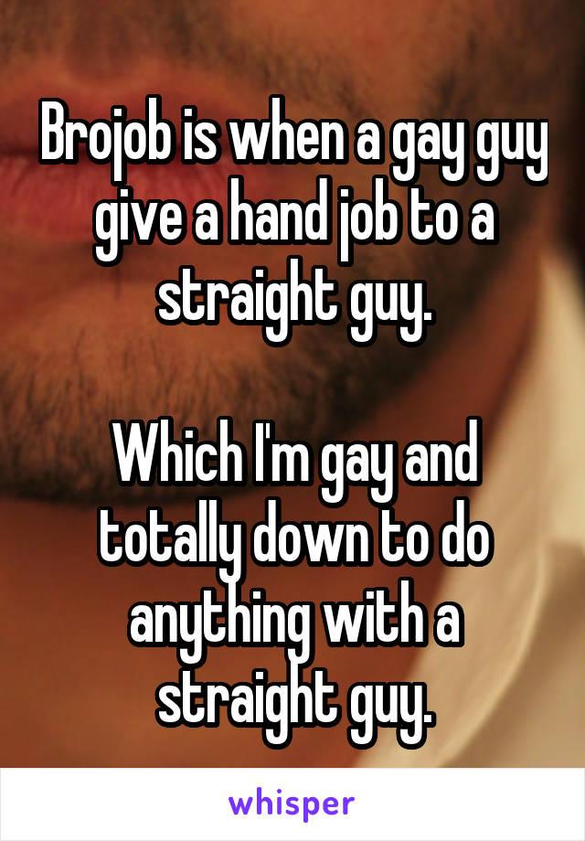 Totally hand job
