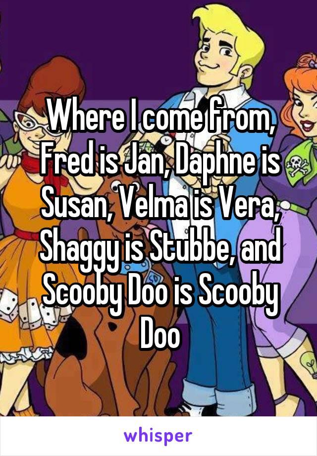 Vera scooby doo