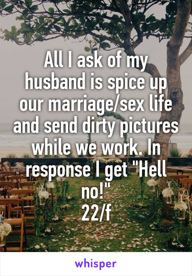 How can i spice up my marriage sexually
