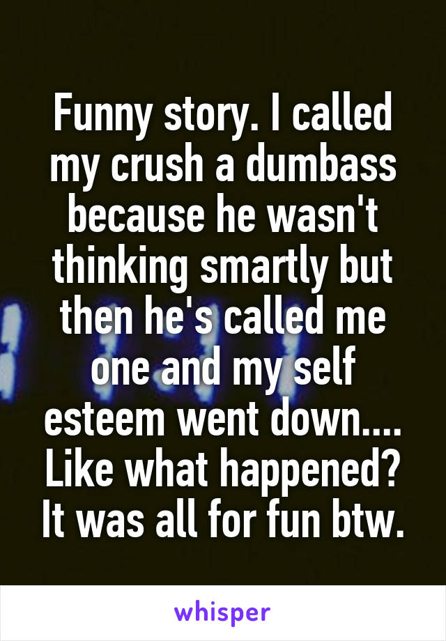 funny stories to tell your crush